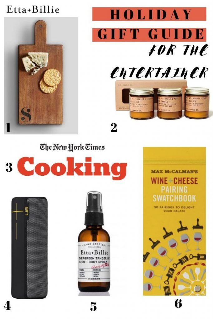 Etta+Billie's Holiday Gift Guide 2019: For the Entertainer