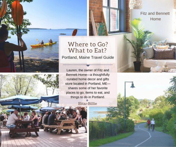 Where to Go? What to Eat? Portland, Maine Travel Guide with Fitz and Bennett