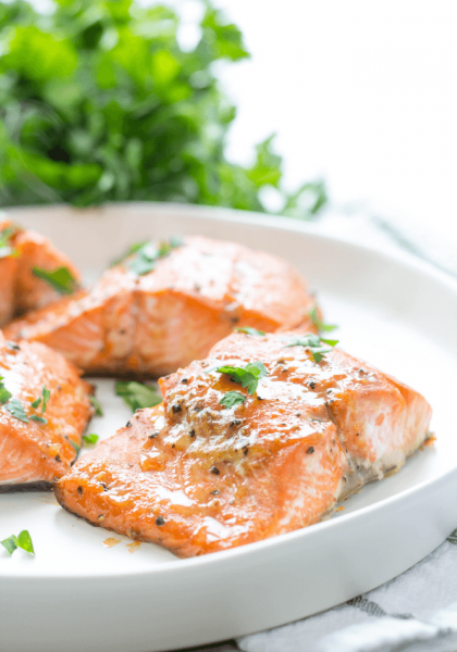 Cooking with Amber's Brown Sugar Glazed Salmon