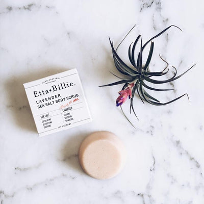 Lavender Body Scrub-Tangible-Etta + Billie