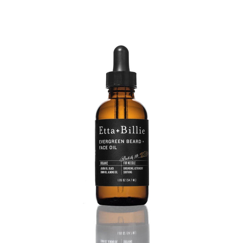 Evergreen Beard + Face Oil-Tangible-Etta + Billie
