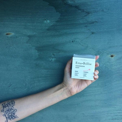 Cedarwood Soap-Tangible-Etta + Billie