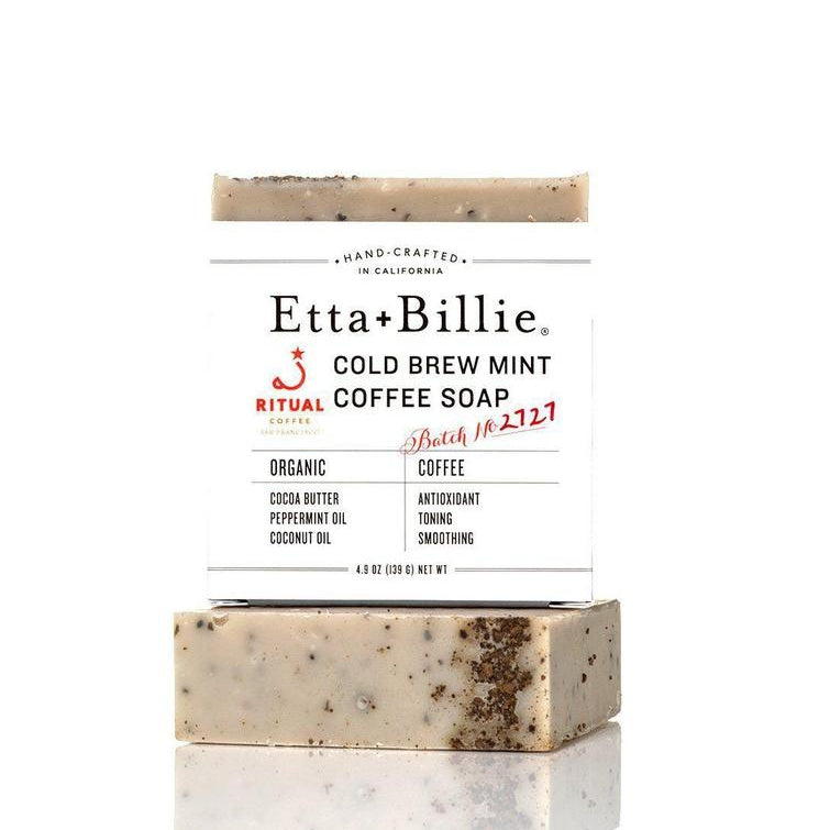 Ritual Roasters Cold Brew Mint Coffee Soap-Tangible-Etta + Billie