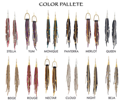 TeCuero Color Pallette