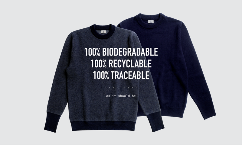 The Double Jacquard and Single Jersey Mid-Weight that are 100% Biodegradable, Recyclable and Traceable