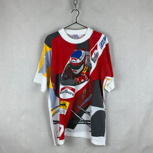F1 Jean Alesi Top (all over print) 90's