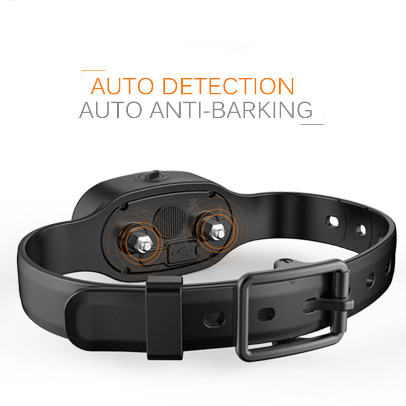 Auto anti barking collar for dogs