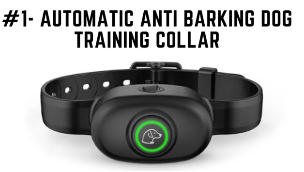 Automatic Anti Barking Dog Training Collar