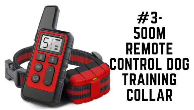 500m Remote Control Dog Training Collar