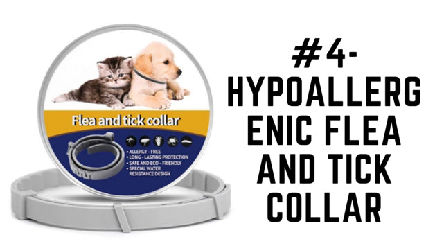 Hypoallergenic Flea and Tick Collar