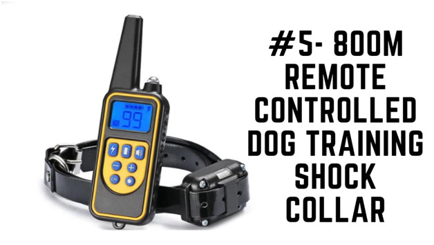 800m Remote Controlled Dog Training Shock Collar