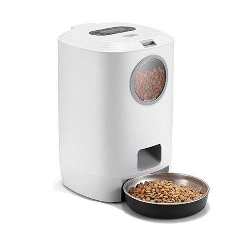 Automatic Cat Dog Feeder Dry Food Dispenser