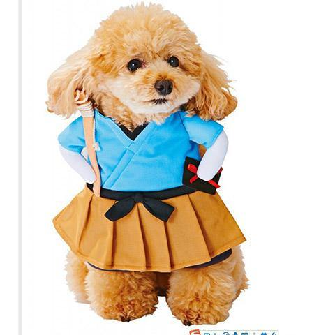 Pet Dog Cat Funny Party Cosplay Costume
