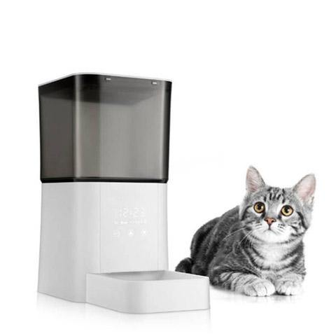 Automatic Smart Pet Feeder for Dogs/Cats, Portion Control & Double Power Supply