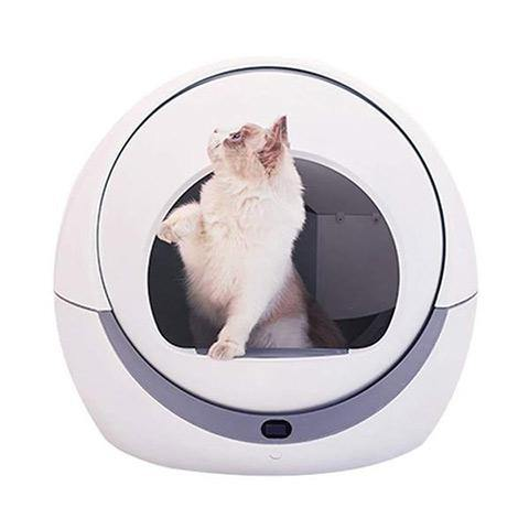 Automatic Self-Cleaning Cat Litter Box, Intelligent Induction, Dust-free, Low Noise