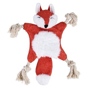 Cute Plush Dog Chew Toy with Squeaker