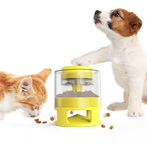 Dog Slow Food Cats Puzzle Automatic Feeder