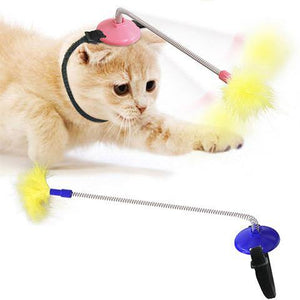Self-play Funny Cat Stick Interactive Cat Toys