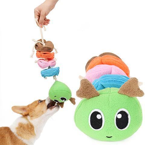 Pet Leaking Food and Vocal Toys Teeth Cleaning Dog Toy