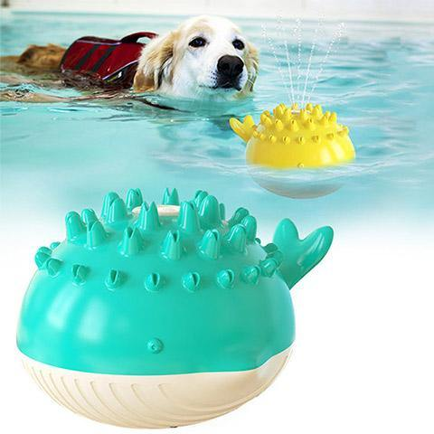 Electric Water Floating Swimming Dog Chew Toy
