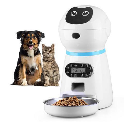 Automatic Timed Cat Dog Feeder Food Dispenser