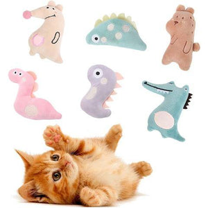 Catnip Cat Toys for Indoor Cats Kitty Plush Chew Toys