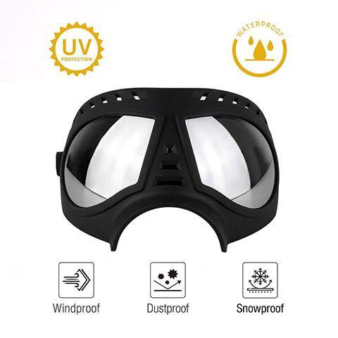 Dog Goggles Windproof Snowproof UV Sunglasses