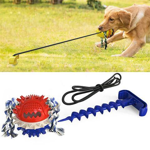 【⚡️30% Off⚡️】Dog Outdoor Interactive Tug Chew Ball toys