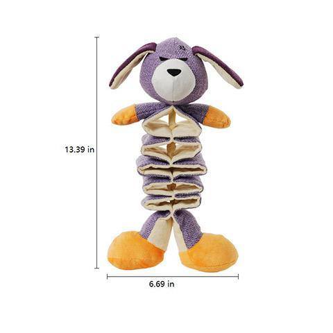 Dog Scalable Squeaky Plush Toy