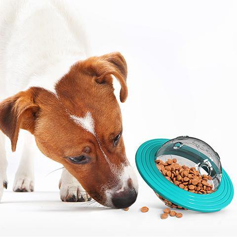 Dog Cat Leaking Ball Food Dispenser Resistant To Biting