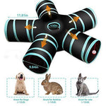 Load image into Gallery viewer, 5 Way Collapsible Cat Tunnel Tube Toy