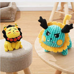 Load image into Gallery viewer, Magical Animals Dog Squeaky Plush Toys