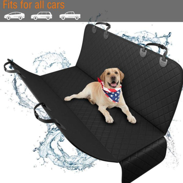 Dog Car Back Seat Cover Protector, Waterproof, Scratchproof & Non-slip