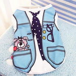 Load image into Gallery viewer, Spring Summer Print Cat Dog Vest Clothes
