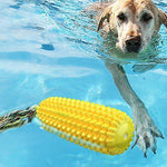 Load image into Gallery viewer, Corn-shaped Dog Cleaning Tooth Molar Stick Squeak Dog Toy