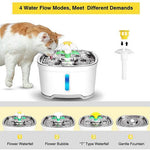 Load image into Gallery viewer, Pet Water Fountain with Intelligent Pump and LED Indicator