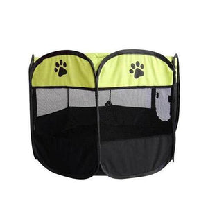 Pet Portable Foldable Playpen & Carrying Case, Water-resistant & Indoor/Outdoor Usage for Dog & Cat