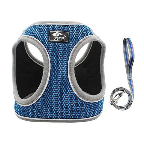 Pet Dog Breathable Vest Traction Rope