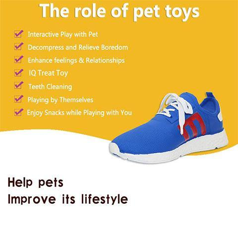 Squeaky Simulation Shoes Dog chew toys