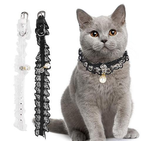 Pet Cat and Dog Lace Collar