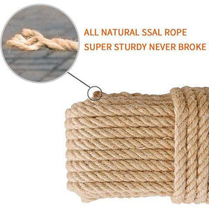DIY Cat Toy Scratcher Sisal Rope Replacement