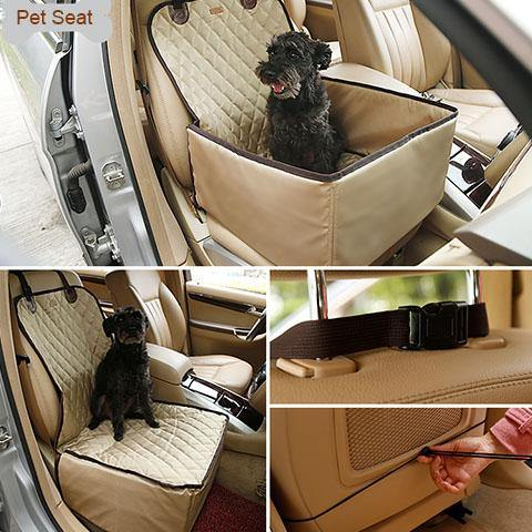Pet Car Seat Cover For Dog Waterproof  Pet Booster Seat