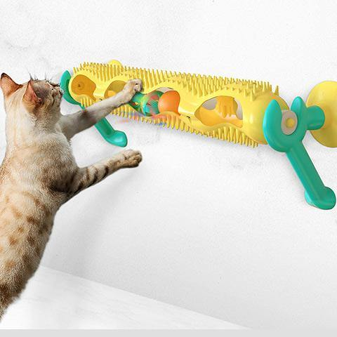 Orbital ball turntable Funny cat toy