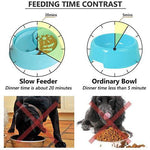 Load image into Gallery viewer, Slow Feeder Dog Bowls Food and Water Dispenser for Dogs