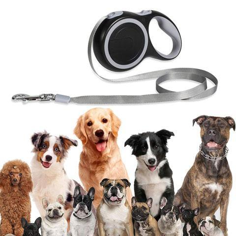 Retractable Dog Leash26 Foot 360° Tangle-Free Heavy Duty Dog Walking Leash up to 110lbs