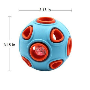 Dog Rubber Chew Glowing Elastic Ball