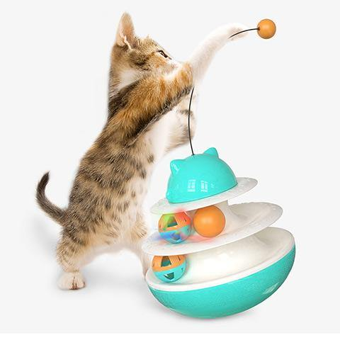 Automatic Spinning Pet Toy Ball Cat Tumbler Toy