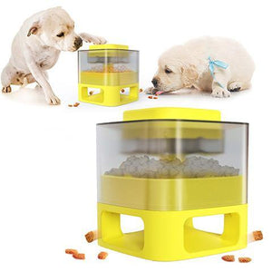 Catapult for Dogs Puzzle Training Slow Food Spiller