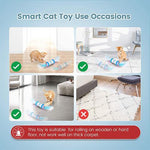 Load image into Gallery viewer, Interactive Colorful Cat Toys Ball with 360° Self-Rotating