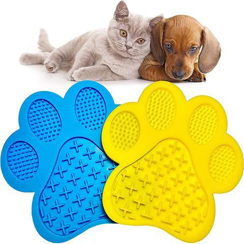 Slow Treater Mat with Suction Cups for for Dogs & Cats